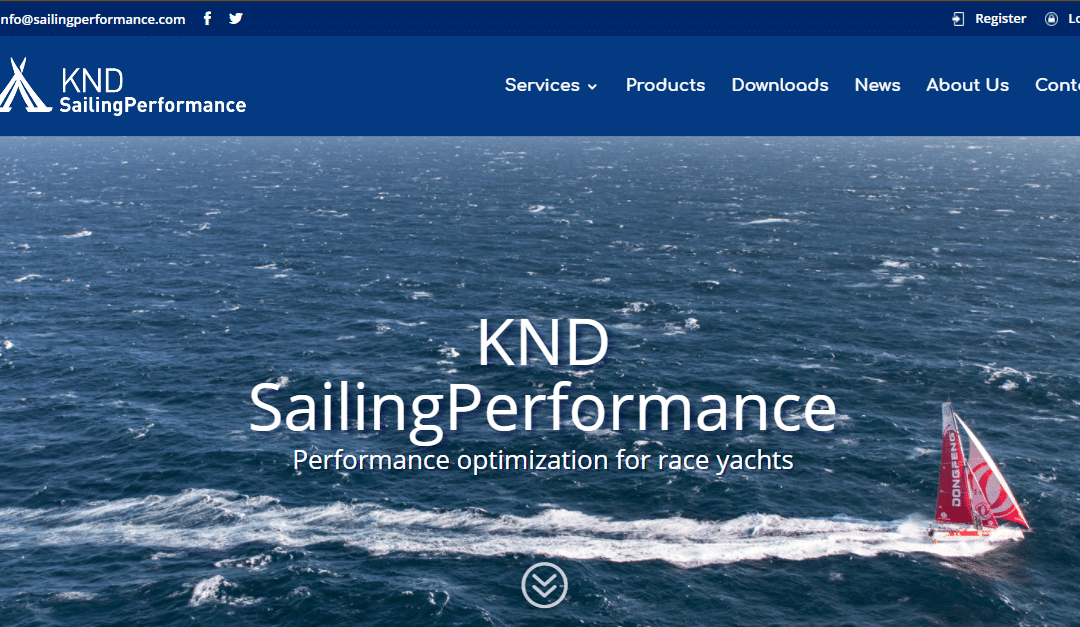 New KND SailingPerformance website