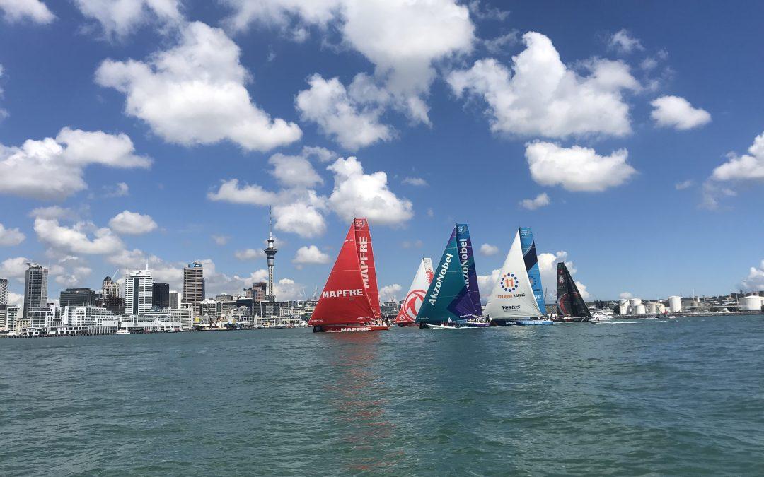 Volvo Ocean Race: Auckland Inport Race